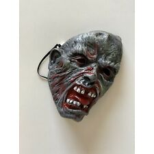 Vintage 90s Old School Zombie Halloween Mask Adult One Size Scary Spooky Cool