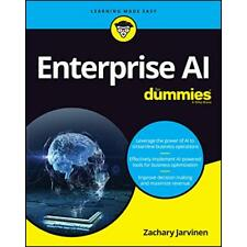 Enterprise AI For Dummies by Jarvinen, Zachary, NEW Book, FREE & FAST Delivery,