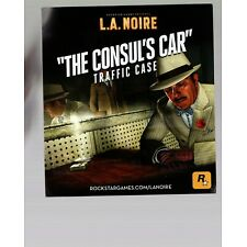 LA Noire The Consuls Car Code PS3 INSERT ONLY Insert Authentic
