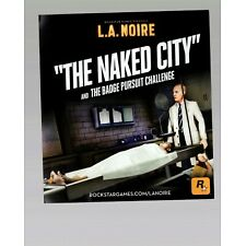 LA Noire The Naked City Code PS3 INSERT ONLY Insert Authentic