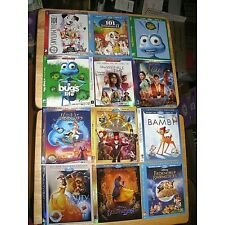 Disney Blu-ray slipcover (SLIPCOVER ONLY! NO MOVIE DISC!) Many to choose from!