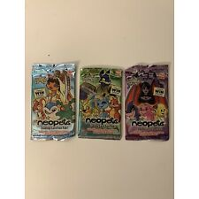 Neopets Fun Paks Trading Card Pack, New, Sealed, Set of 3