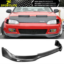 Fits 92-95 Honda Civic 2/3 Door Coupe Hatchback JDM PU Front Bumper Lip Spoiler (Fits: More than one vehicle)