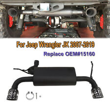 Muffler Exhaust System Kit Fit for Jeep wrangler JK 2007-2019 replace OEM# 15160