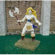 54 mm, Barbarian female Hand Painted Miniature