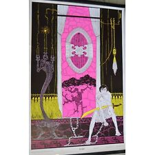 Vintage 60s Blacklight Poster The Guard