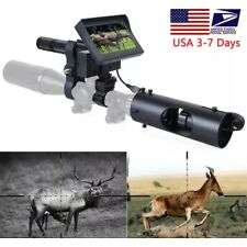 Night Vision Riflescope Hunting Scopes Sight Camera Infrared LED IR Clear Vision