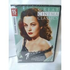 GREAT CINEMA CLASSICS 15 Movies Brand NEW DVD Alfred Hitchcock For Sale