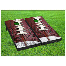 VINYL WRAPS Cornhole Boards DECALS NFL Fans Football Bag Toss Game Stickers 290