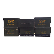 6 Pack 50 Cal ammo cans - Grade 2