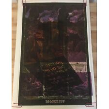 Moment Stone Garden Vintage Blacklight Poster 1960s Satty Psychedelic Pin-up 60s