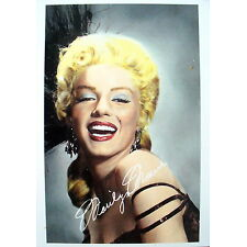 MARILYN MONROE- Iconic vintage tinted photo postcard - NEW (4¼ x 6 in.)