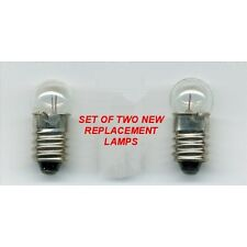 ZENITH TRANSOCEANIC 2 MINI BULBS / LAMPS FOR ANY 1000 or 3000 SERIES RADIOS