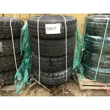 (4) Goodyear Wrangler MT M998 HMMWV Military Tires with Rims 37x12.50R16.5 LT