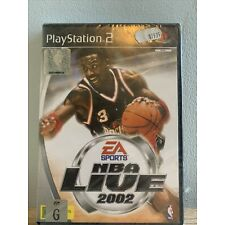 NBA Live 2002 PS2 Game PAL Region New in Plastic