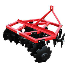 Category 1 3 Point Notched Disc Harrow Plow For Kubota New Holland Tractors 5'