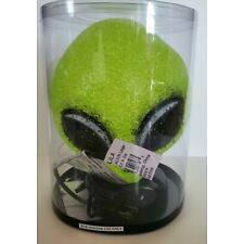 Alien Head 8 Inches Sparkle Glowing Lamp Night Light Green NEW