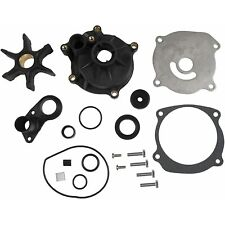 FOR EVINRUDE JOHNSON 85 88 90 110 112 115 HP V4 WATER PUMP KIT WITH HOUSING