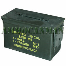 50 CAL. Ammo Can, Surplus Stenciled