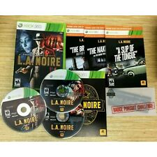 L.A. Noire (Microsoft Xbox 360) COMPLETE W/ SEALED PHOTO NEGATIVES *CODE USED*