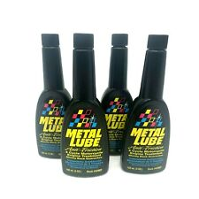 Metal Lube Engine Treatment, Anti-Friction 4 Cycle Motorcycle 4Oz