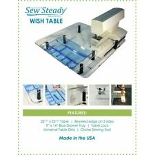 Janome MC-9400 QCP Sew Steady Ultimate Wish Table PACKAGE Made in USA