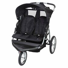 Baby Trend Expedition EX Swivel Travel Jogging Double Baby Stroller, Griffin